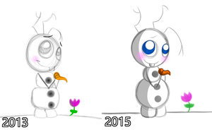 RE - Olaf by PuccaFanGirl