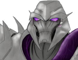 Megatron colored XD by MNS-Prime-21