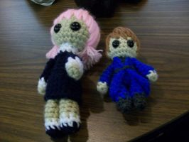Crona and Italy Dolls by PrincessSky