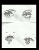 Eye practice (pencil) by Astroanimations