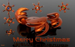 3D Christmas by ShippD