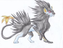 December 13th 2011: Luxray by UltimateSassMaster