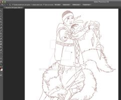 EXO Kai - Wolf (In Process) by Hyung86