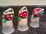 Piranha Plant Cake Pops by SugiAi