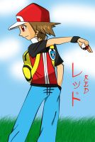 Pokemon Trainer Red by Magicwaterz16