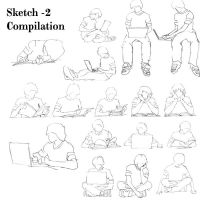 Sketch Compilaion -2 by BlkBtrfli8