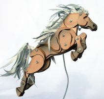 Mini Articulated Pony by Ribena-Warrior