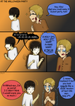 APH Comic - The Halloween Party by InvaderJes11