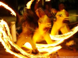 Fire Dancers by AcidEnergy