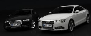 2012 Audi A5 Coupe - Post-render tweaks 1 by MeshWeaver