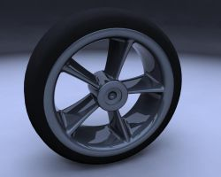 Wheel: speed modelling by Elkins
