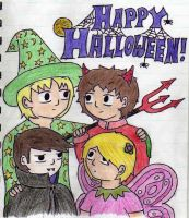 Happy Halloween by BeckyBumble