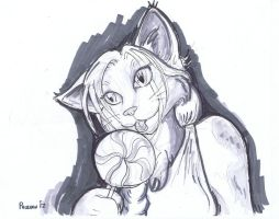 Calico Candy (test sketch) by chrispco