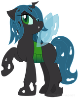 Crystal the Changeling by MintyStitch
