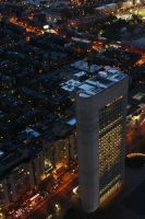 Boston at Night I by annaesthesia