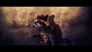 Rocket Raccoon wallpaper (3) by BiigM