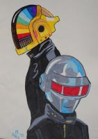 Daft Punk by MisterSali