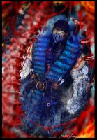 Sub Zero-Mortal Kombat x fatality shoot by Grapiqkad