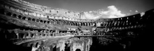 The Colosseum Panorama by navidoutlaw