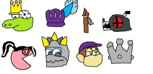 Symbols for DLC Smash characters by Tommypezmaster