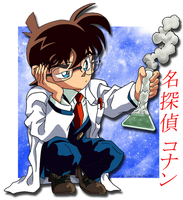 Scientific Conan by shinigami-1412