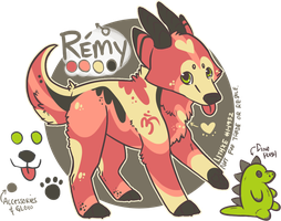 [Pup] Remy by lithxe