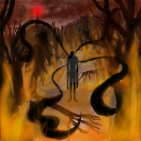 Can't Run - Slender: The Arrival by garnetbarren