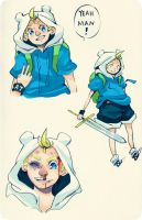 Finn The Human Boy by Ark-san