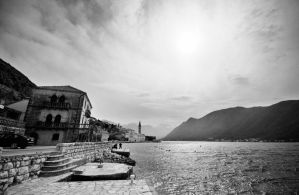 Perast Montenegro by psdlights