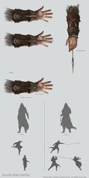Connor's Weaponry by wwudesign