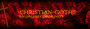 Christian-Goths Banner by Katukaa