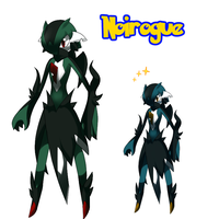 Comm - Fakemon: Noirogue by ShadowScarKnight