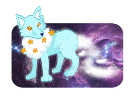 Contest entry: Cloud fox/wolf by valurauta