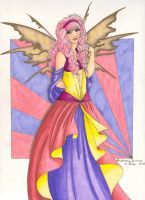 The Most Colorful Queen by Audriana