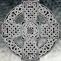 Celtic cross by Deafening-Silence
