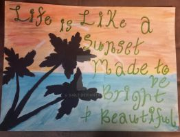 Sunset Quote by Gail7