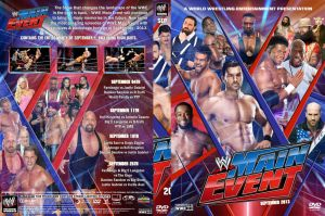 WWE Main Event September 2013 DVD Cover by Chirantha