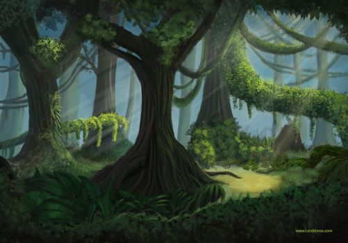 Empty Jungle by LorDeimos