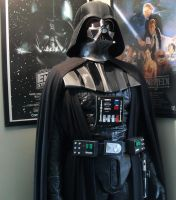 Lifesize Darth Vader mannequin by godaiking