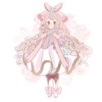 Floral Maiden Lapine by puddinprincess