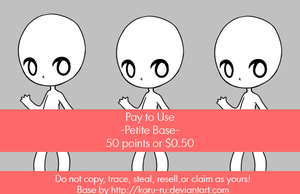 Pay to use Base {Petite} 50pt/$0.50 by Koru-ru