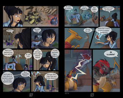 Selene BFOIY2 - Round 4 - Pages 15 and 16 by LukkiStarr