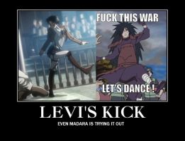 Levi's Kick by Missing-Nins