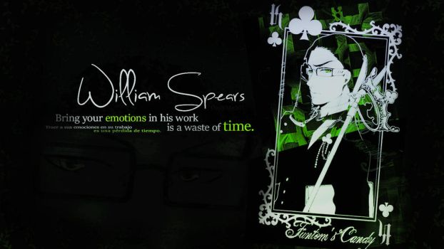 William T. Spears | Wallpaper by DanyMe501