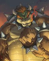 BOWSER: KING OF THE KOOPAS by E-Mann
