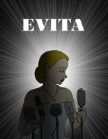 Evita poster by Cor104