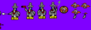 Scrooge Sprites by Fredericton-high