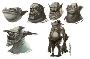 Orcish Trollz by Beezul