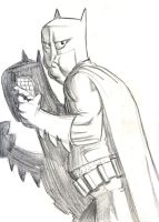 Batman Sketch by PeteYong
