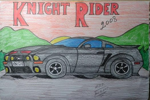 2008 Ford Mustang KITT by adrian154